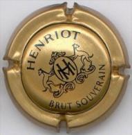 CAPSULE-CHAMPAGNE HENRIOT N°50 Brut Souverain Or Pâle - Henriot
