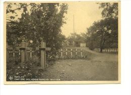 Auvelais Cimetière Des Héros Français 1914 1918 - Sambreville
