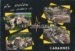 CABANNES - LA COOPERATIVE - L'EGLISE - QUARTIER DE L'EGLISE (CAVE COOPERATIVE) (CPSM) - Otros Municipios