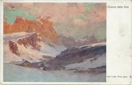 Cimone Della Pala Ed. Karl Ludwig Prinz Circulee 1920 Cachet Wien Practicle - Guerre 1914-18