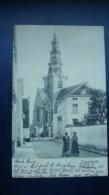 DIEGHEM :  Une Rue Devant L'église En 1904 - Diegem