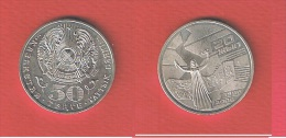 KAZAKHSTAN     //  50 TENGE  2006  // KM #  79     //  état  SPL - Kazakhstan