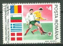 ROMANIA 1990: YT 3882 / Mi 4590, O - LIVRAISON GRATUITE A PARTIR DE 10 EUROS - Oblitérés