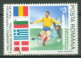 ROMANIA 1990: YT 3881 / Mi 4589, O - LIVRAISON GRATUITE A PARTIR DE 10 EUROS - Oblitérés