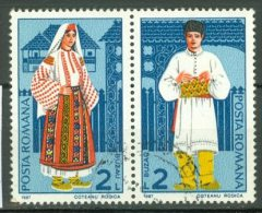 ROMANIA 1987: YT 3764 - 3765 / Mi 4400 - 4401, O - LIVRAISON GRATUITE A PARTIR DE 10 EUROS - Oblitérés