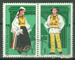 ROMANIA 1987: YT 3762 - 3763 / Mi 4398 - 4399, O - LIVRAISON GRATUITE A PARTIR DE 10 EUROS - Oblitérés