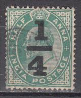 India      Scott No.   77    Used    Year  1905 - India (...-1947)