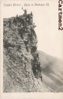SOGGETTI MILITARI ALPINI IN MONTAGNA MILITARE GUERRA REGGIMENTO ARTIGLIERIA ITALIA 1900 - Manovre