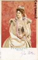 LA REGINA DI ITALIA S.M. MARGHERITA DI SAVOIA MARGUERITE DE SAVOIE REINE D'ITALIE 1900 - Case Reali