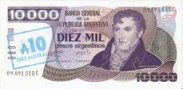 BILLETE DE ARGENTINA DE 10000 PESOS ARGENTINOS  (BANKNOTE)  SIN CIRCULAR-UNCIRCULATED - Argentina