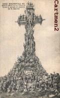 CROCE MONUMENTALE DEL MONTE AMIATA VISITA IN PERIODO DI MANOVRE DEL R. ESERCITO GUERRA - Italie