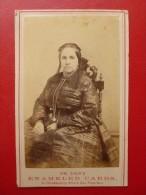 CDV SARAIN PHOTO WILLIAM SHEW ENAMELED CARDS A SAN FRANCISCO 1870 - Photos