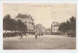 71 Dép.- 2.- Chalon-sur-Saone.- Avenue De La Gare.  Chalon.- E. Lemoine, Edit.  Carte Postale N - Chalon Sur Saone