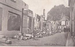SENLIS - Rue Bellon 1915 Dép60 (guerre 14-18) 2scans TBE -animée - Senlis