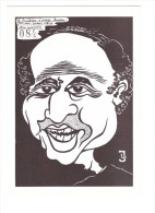 Illustrateur Lardie Le Socialisme à Visage Humain Laurent Fabius - Lardie