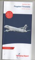 Alt578 Timetable Flights, Schedule, Orario Voli, Airways, Airline Hamburg Airport Aeroporto Amburgo 2014 - World