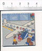 Magnet / Humour Aéroport Avion Aviation Embarquement Escalier  / K-B-1 - Magnets