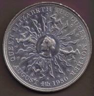 GB 25 NEW PENCE 1980 QUEEN MOTHER - 1971-… : Monedas Decimales