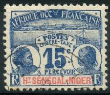 Haut Senegal Et Niger (1906) Taxe N 3 (o)