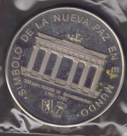 GUINEA ECUATORIAL 1000 FRANCOS 1991 PUERTA DE BRANDEMBOURG Brandenburg Gate - Guinée Equatoriale
