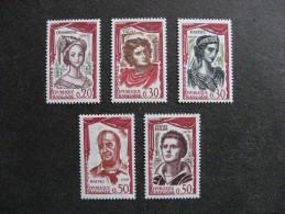 TB Serie N° 1301 Au N° 1305, Neufs XX. - Francia
