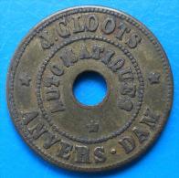 Anvers Dam J.C Loots 10 Centimes - Monetary / Of Necessity