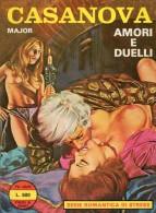 STRESS SERIE ROMANTICA CASANOVA  N°4 AMORI E DUELLI - Livres, BD, Revues
