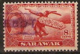 8c Red - Sarawak (...-1963)
