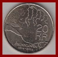 Norwegen 20 Kronen 2014 - Norway