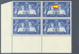 South West Africa 1947. 3d Royal Visit. (UHB 101 V6). SACC 164a**, SG 136a**. - Südwestafrika (1923-1990)