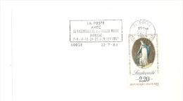 REVOLUTION = 74 BOEGE 1989 = FLAMME Type II = SECAP  ' LA POSTE Bicentenaire En Vallée Verte ' - Oblitérations Mécaniques (flammes)