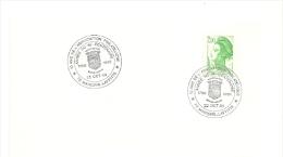 REVOLUTION = 78 MAISONS LAFFITTE  1988 = CACHET Illustré D'ARMOIRIES ' Année Du BICENTENAIRE' - Postmark Collection (Covers)