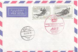 AUA    Winter Olympiade Flug - Winter 1964: Innsbruck