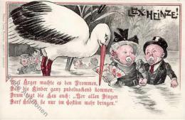 55084588 - Politik Lex Heinze umstrittenes Gesetz zur Aenderung des Reichsstrafgesetzbuches 1900 Kinder Storch I-II
