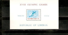 TOKYO OLIMPIC GAMES 1964 LIBERIA - Summer 1964: Tokyo