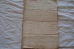 CONTRAT DE MARIAGE DE 1754 D UN CAPITAINE DE MARINE