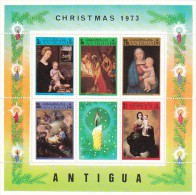 Barbuda 1973 Christmas Souvenir Sheet MNH - Antigua E Barbuda (1981-...)