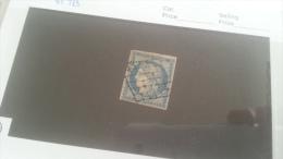 LOT 221618 TIMBRE DE FRANCE OBLITERE N�4 VALEUR 45 EUROS TB