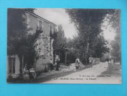 79 : LE VANNEAU : IRLEAU : LA CHAUME  :  C.P.A.,carte En Trés Bon état ,animée - Other Municipalities