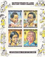 British Virgin Islands 1979 International Year Of The Child Souvenir Sheet MNH - British Virgin Islands
