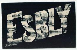 CPA  SEINE Et MARNE - 77 - ESBLY - France