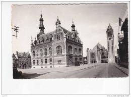 COMINES  -  Hôtel De Ville Et Eglise  -n°  8  . - Comines-Warneton - Komen-Waasten