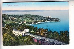 I 34100 TRIESTE, Miramar, Eisenbahn - Trieste
