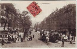 75 Paris Avenue Des Gobelins :bus Hippomobile à Impériale - Distrito: 13