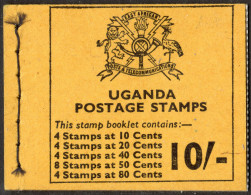 UGANDA. 1975  5/- STAMP BOOKLET COMPLETE MNH. - Uganda (1962-...)