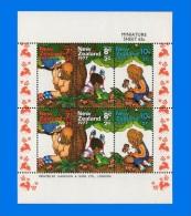 NZ 1977-0001, Health Stamps, Miniature Sheet MNH - Blocks & Sheetlets