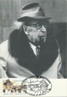 Georges Simenon -Ecrivain - Timbre Illustrant L´artiste - Maximaphilie - 1994 - Ecrivains