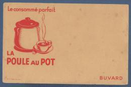 BUVARD LE CONSOMME PARFAIT -  LA POULE AU POT - 20.4  X 13.3 Cm - Sopas & Salsas