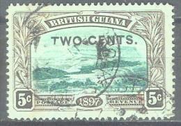 BRITISH GUYANA - QV - YVERT # 93 - VF USED - Guyana Britannica (...-1966)