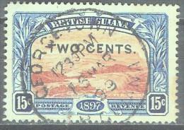 BRITISH GUYANA - QV - YVERT # 95 - VF USED - Guyana Britannica (...-1966)